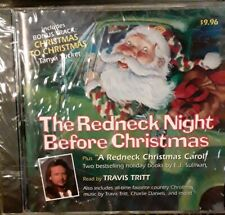 The Redneck Night Before Christmas Carol Audio CD Travis Tritt Country Holiday