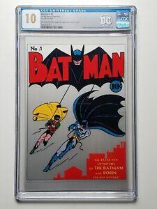 BATMAN #1 (2018) Pure Silver Foil (NZMINT) CGC 10 GEM MINT [DC Comics]