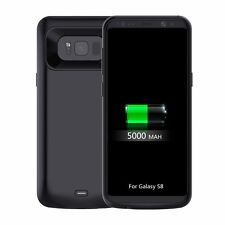 For Samsung Galaxy S8 & S8 Plus Battery Charging Case 5500mAh Rechargeable Cover