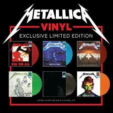 Metallica 6 Walmart Exclusive Limited Colored Vinyl Record LP Set IN HAND New