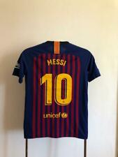 Kids 2017-2018 FC Barcelona Lionel Messi #10 Home Jersey Nike