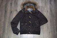 TOMMY HILFIGER Damen Jacke S 36 Dufflecoat braun Jacket Woman Jacke Hooded TOP