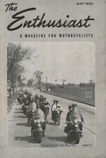 1950 May The Enthusiast Harley-Davidson Magazine - Alexis Rd. Toledo Ohio Riders