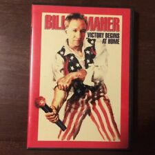 Bill Maher Victory Begins At Home DVD stand up comedy political humor satire