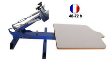 Presse Machine Table de Sérigraphie 1 Couleur Multi Réglages VARI