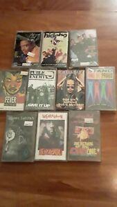 Sealed hip hop cassette lot rap digital underground de la soul public enemy rare