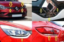 2012-2017 Renault CLIO 4 IV HB chrome set 9 pcs