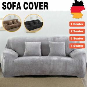 Neu1-4-Sitzer Cover Sofabezug Sofa Abdeckung Stretch Protector Couch Schonbezug