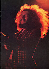 1971 Jethro Tull Ian Anderson Steeleye Span Concert Program Tour Book Aqualung