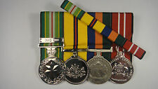 Australian Active Service Medal Iraq Border Protection  Medals ADM + Ribbon Bar