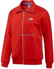 ~Adidas BECKENBAUER Track sweat shirt jersey Jacket Fleece Franz Top football~S~