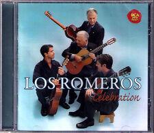 LOS ROMEROS: CELEBRATION Villa-Lobos Breton Pachelbel Canon Rodrigo Pepe Romero