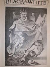 King (president Paul) Kruger The Uitlanders' Friend Hy Mayer after Watts 1899