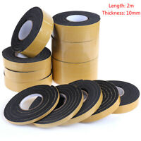 10mm thick One-sided Self-adhesive foam foam adhesive sealing tape foam str Kn