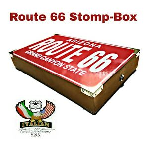 Stomp-Box mod.Route 66 , Rhythm Foot Drum Machine