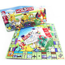 Pokemon Monopoly Junior Game Monster Pikachu Family Party Board Game Kids Toy