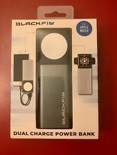 Blackfin Dual Charge Power Bank Phone Iphone and for Apple Watch Series 1 2 3 4