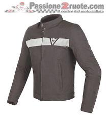 Giacca Giubbotto moto Dainese Stripes Tex marrone vintage scrambler cafe racer