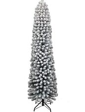 KING OF CHRISTMAS 9 Foot  Artificial Christmas Tree With White LED Lights