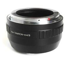 Quality Tamron Adaptall Lens to M4/3 Mount Adapter - Fits all Micro Four Thirds