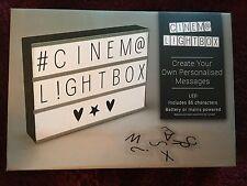 Cinema led  lightbox