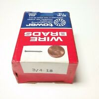 "1 LB. Box of 3/4"" - 18 Ga. Wire Brads - Tower Manufacturing Company - USA"
