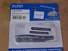 ALIGN HELICOPTER PART - HS1081T-84 = METAL FLYBAR CONT. SET, DB : TREX 450(NEW)