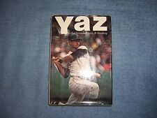 YAZ by Carl Yastrzemski/1st ed/HCDJ/Biography/Sports/Baseball