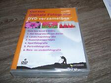 Cursus Digiale Fotografie * 6 DVD Verzamelbox 2011 NEW Sealed *