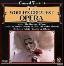THE WORLD'S GREATEST OPERA (CD, Aug-1999, Madacy), CD IN EXCELLENT CONDITION
