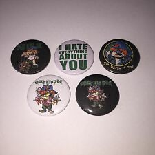 5 Ugly Kid Joe badges I Hate Everything About You So Damn Cool Whitfield Crane
