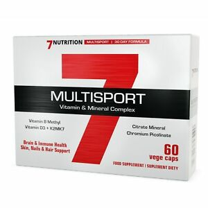 7NUTRITION MULTISPORT 60 KAPSELN 30xMultivitamin + 30xMultimineral