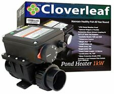 More details for cloverleaf pond heater 1kw 2kw koi pool heating winter temperature control