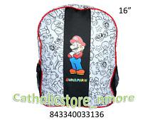 "Mario Bros  Backpack 16"" - 3136"