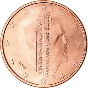 [#765753] Pays-Bas, 5 Euro Cent, 2015, SUP, Copper Plated Steel