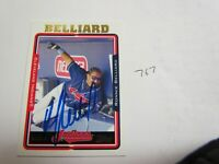 Ronnie Belliard Autographed Topps Baseball Card JSA Auction Certified