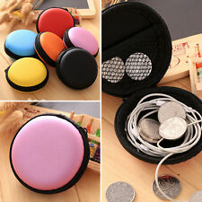 Portable Hard Case Pouch Storage Bag For TF SD Card Earphone Headphone Earbuds