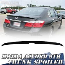 2013up For Honda Accord 9th 4D OE Style Rear Trunk Spoiler Painted Color #NH731P