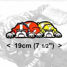 """Valentino Rossi Sticker Guido bulldog vinyl Decal #7 2013/14 (7.5"""" / 19cm)"""