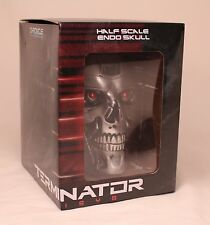 TERMINATOR Genisys Half Scale ENDO SKULL Silver (NIB) NEW Loot Crate Exclusive