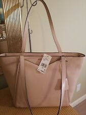 Nwt Michael Kors Leather Whitney TopZip Tote Shoulder Soft Pink MSRP $298