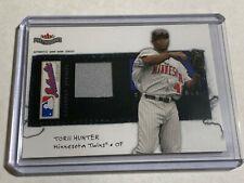 Torii Hunter 2004 Fleer Patchworks Jersey Card #d 300/300 Minnesota Twins