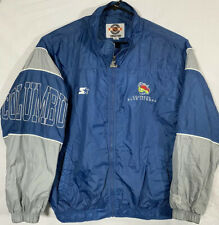 Vintage Starter Columbus Blue Jackets NHL Jacket Men XL Spell Out Hockey League