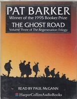 Pat Barker The Ghost Road 2 Cassette Audio Book Reneration Trilogy 3 FASTPOST