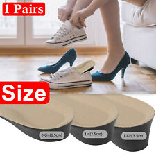 1.5-3.5CM Height Increase Insole Heel Lift Cushion Insert Shoe Gel Pad Soft Sole