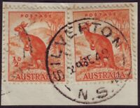 "NSW POSTMARK ""SILVERTON"" DATED 1948 (A11984)"