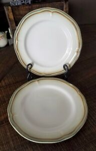 Better Homes and Gardens Simply Fluted Dillweed Salad Plates  x 2