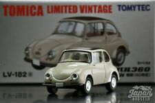 [TOMICA LIMITED VINTAGE LV-182a 1/64] SUBARU 360 CONVERTIBLE 1960 (Closed top)
