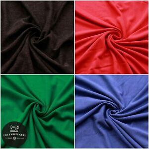Plain Cotton Jersey, 280 GSM, 65% Cotton, 35% Polyester, 150cm Wide Full Metre