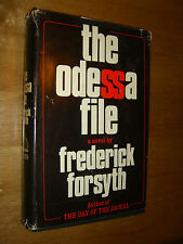 The Odessa File Frederick Forsyth author of Day of the Jackal 1972